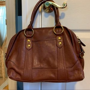 Frye Lucy Dome Crossbody Satchel